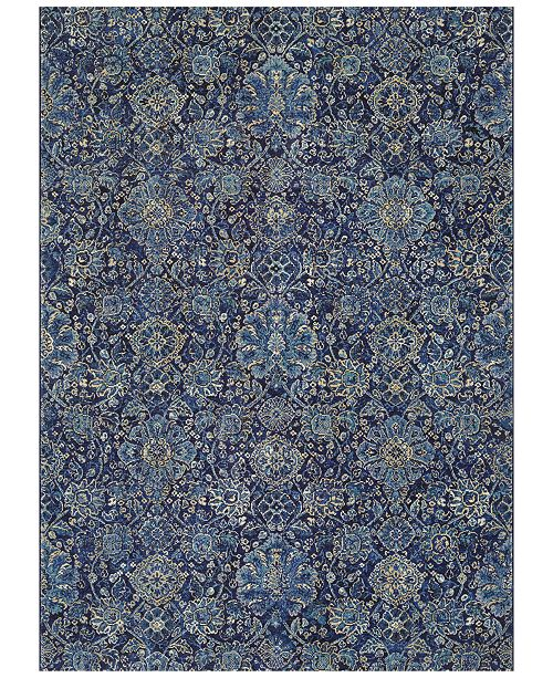 "Couristan Taylor Winslet Navy-Sapphire 5'3"" x 7'6"" Area Rug"