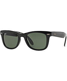 Ray-Ban FOLDING WAYFARER Sunglasses, RB4105 50