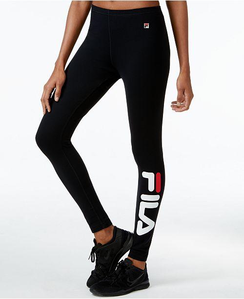 bdc128995c71 Fila Karlie Logo Leggings & Reviews - Pants & Capris - Women - Macy's