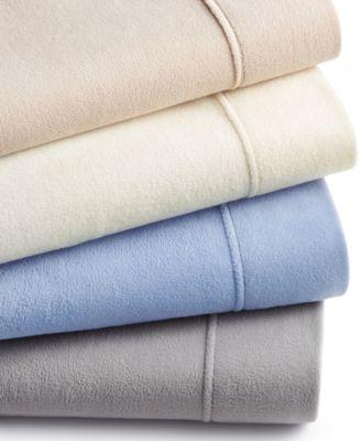 martha stewart collection fleece sheet sets created for macyu0027s
