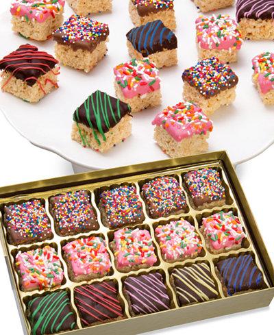 Chocolate Covered Company 15-Pc. Celebration Belgian Chocolate Covered Crispy Bites