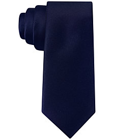 Tommy Hilfiger Twill Solid Tie, Big Boys