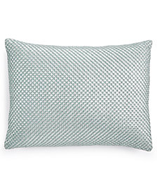 "Calvin Klein Home Tinted Wake Shimmer 12"" x 16"" Decorative Pillow"