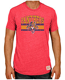 Retro Brand Men's Florida Panthers Triblend Streak T-Shirt