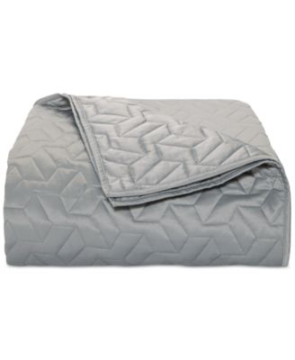 CLOSEOUT! Cubist Full/Queen Coverlet, Created for Macy's
