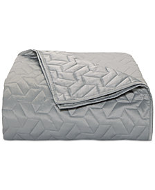 Hotel Collection Cubist King Coverlet, Created for Macy's