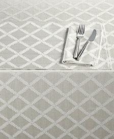 """Lenox Laurel Leaf 70"""" x 86"""" Tablecloth"""