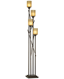 kathy ireland Home by Pacific Coast City Crossing Uplight Floor Lamp