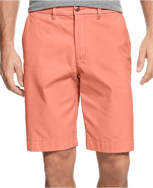"""Tommy Hilfiger Men's 9"""" Classic-Fit Chino Shorts, Created for Macy's"""