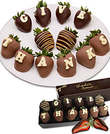 Chocolate Covered Company  12-Pc. Give Thanks Belgian Chocolate-Covered BerryGram™