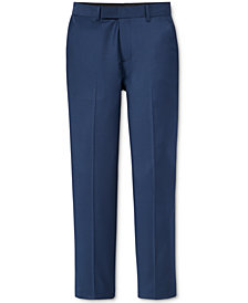 Calvin Klein Big Boys Husky Stretch Suit Pants