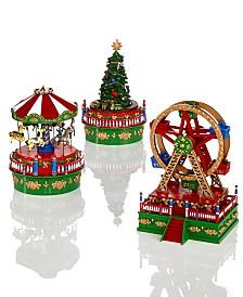 Mr. Christmas Mini Carnival Music Box Collection
