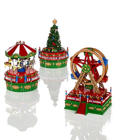 mr christmas mini carnival music box collection - Mr Christmas Tree