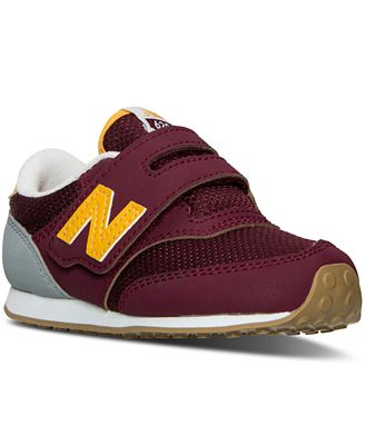 new balance toddler boys' 420 casual sneakers from finish