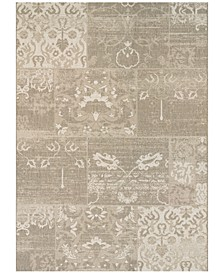 "Afuera Country Cottage 6'6"" x 9'6"" Indoor/Outdoor Area Rug"
