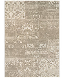 "Couristan Afuera Indoor/Outdoor Country Cottage Beige-Ivory 2'2"" x 11'9"" Runner Area Rug"