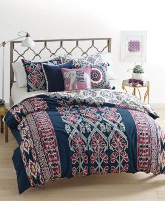 whim by martha stewart collection wild child reversible 3 piece comforter sets cotton