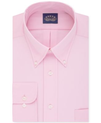 Image of Eagle Men's Classic-Fit Stretch Collar Non-Iron Solid Dress Shirt