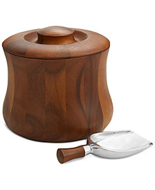Nambé 3-Pc. Nara Lidded Ice Bucket & Shovel Scoop Set