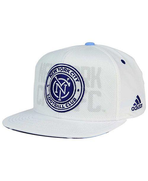 huge discount 630a5 681ea ... adidas New York City FC Authentic Team Snapback Cap ...