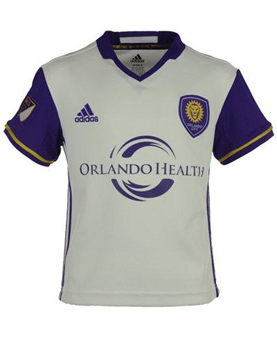 adidas Orlando City SC MLS Replica Secondary Jersey, Little Boys (4-7)