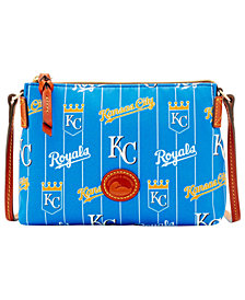 Dooney & Bourke Kansas City Royals Nylon Crossbody Pouchette