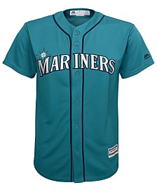 Majestic Men's Seattle Mariners Blank Replica Big & Tall Jersey