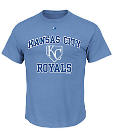 Majestic Men's Kansas City Royals Hit and Run T-Shirt