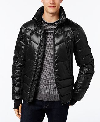 MICHAEL Michael Kors Men's Stretch-Panel Down Ski Jacket - Coats ...