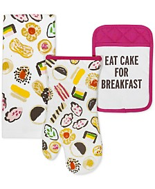 "kate spade new york ""Eat Cake for Breakfast"" 3-Pc. Gift Set"