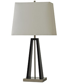 StyleCraft Amaro White Table Lamp