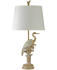 StyleCraft Bird of the Beach Table Lamp