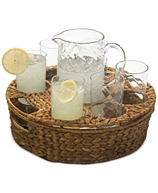 9-Pc. Masonware Garden Terrace Beverage Set