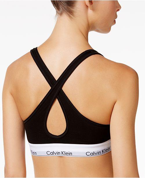 6c248933ae5c2 Calvin Klein Padded Bralette QF1654   Reviews - All Bras - Women ...