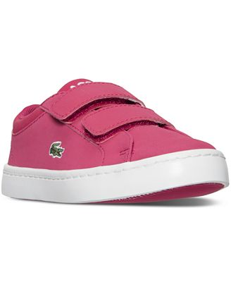 lacoste shoes toddler girls