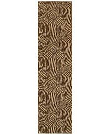 "CLOSEOUT! Tommy Bahama Home  Voyage 93N Beige 1' 10"" x 7' 6"" Runner Area Rug"