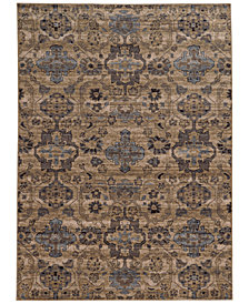 "Tommy Bahama Home Vintage 4929Y Beige 6' 7"" x 9' 6"" Area Rug"