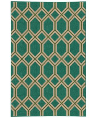"Seaside Indoor/Outdoor 6660 6' 7"" x 9' 6"" Area Rug"