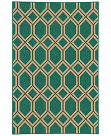 "Tommy Bahama Home Seaside Indoor/Outdoor 6660 6' 7"" x 9' 6"" Area Rug"