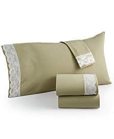 Shavel Micro Flannel® Lace Full 4-pc Sheet Set
