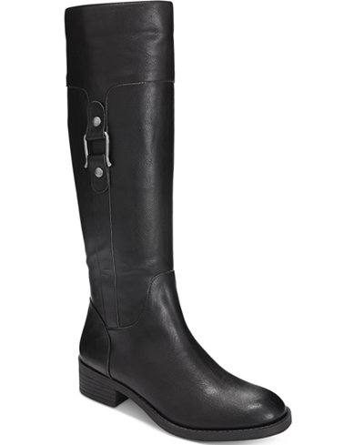 Style & Co Astarie Riding Boots, Only at Macy's - Boots - Shoes ...