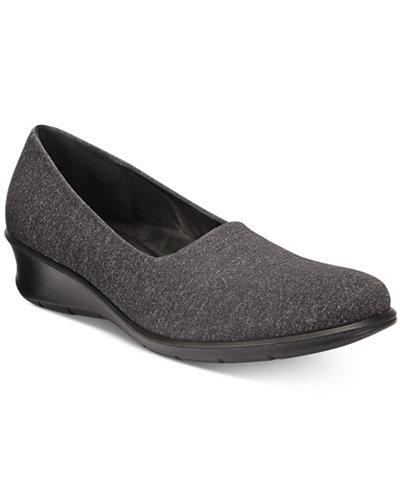 Ecco Women S Felicia Stretch Flats Flats Shoes Macy S