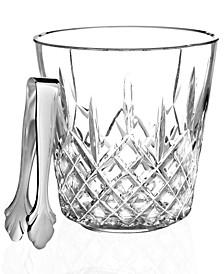 Barware, Lismore Ice Bucket With Tongs