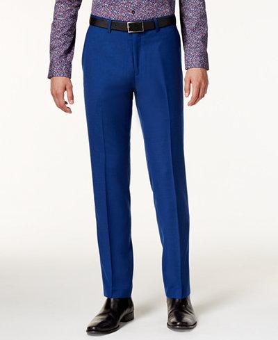 Bar III Men's Slim-Fit Cobalt Pants, Only at Macy's