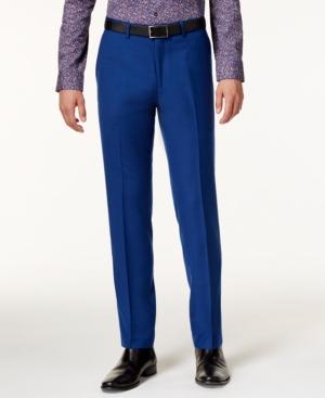1960s Style Men's Clothing Bar Iii Mens Slim-Fit Cobalt Pants Only at Macys $39.99 AT vintagedancer.com