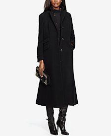 Lauren Ralph Lauren Wool-Cashmere Blend Maxi Reefer Coat