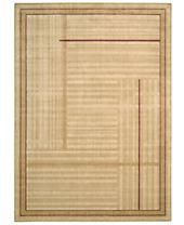 CLOSEOUT! Nourison Rugs, Somerset ST17 Lines Gold