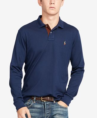 Polo Ralph Lauren Men's Soft-Touch Long-Sleeve Polo