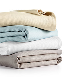 CLOSEOUT! Hotel Collection Premier MicroCotton® Blankets, Created for Macy's