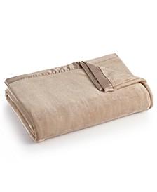 Classic Velvety Plush Full/Queen Blanket